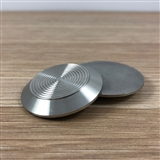 STAINLESS STEEL TACTILE PLAIN BACK