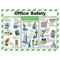 Office Safety - Workplace Safety Posters