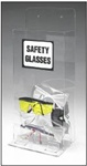 Clear Delux Dispenser - Safety Glasses Dispenser