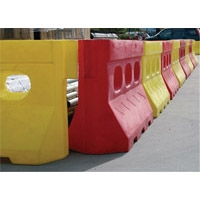 LOC-BLOCK WATER FILLED BARRIER RED
