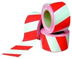 Red/White Barrier Tape 100 of