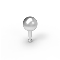 Skateboard Stud Stainless Steel - 23mm Ball