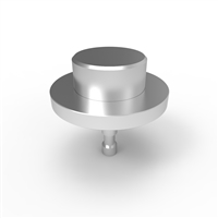 Skateboard Stud Stainless Steel - 30mm Flat Top &Stud Collar