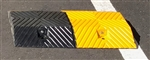 Speed Hump Rubber 350x500mm module Black/Yellow w reflective