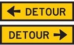 Detour (Arrow) L/R