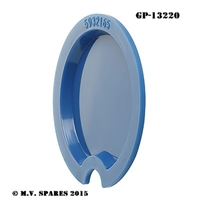 WWII LOUVRE LIGHTS BLUE MARKER LIGHT LENS GP-13220