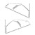 Molding Roofrail Weatherstrip Channel / Retainers Fastback Pair 1969 - 1970 - Dynacorn