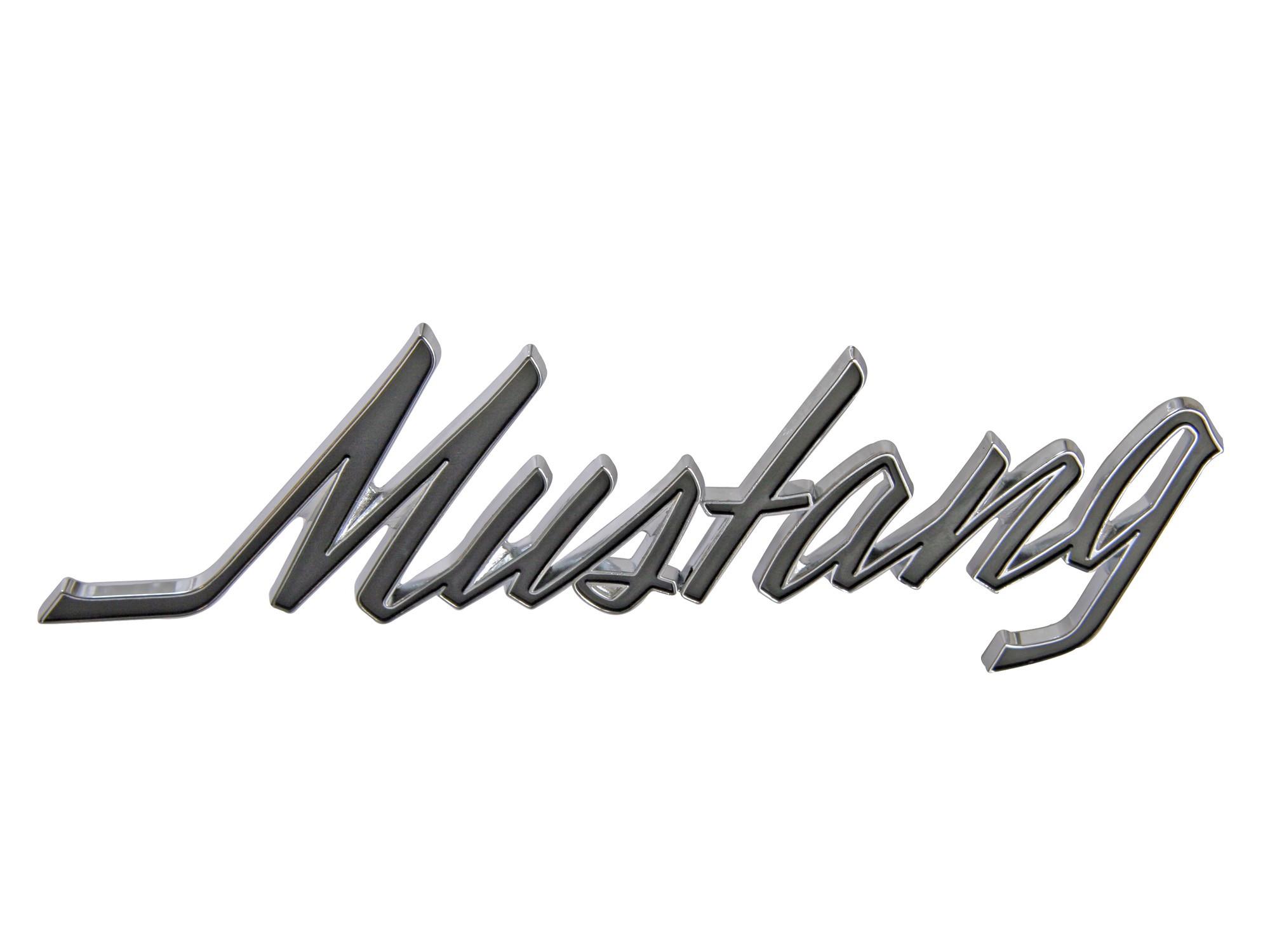 Fender Emblem Mustang Script 1969 1973 Scott Drake