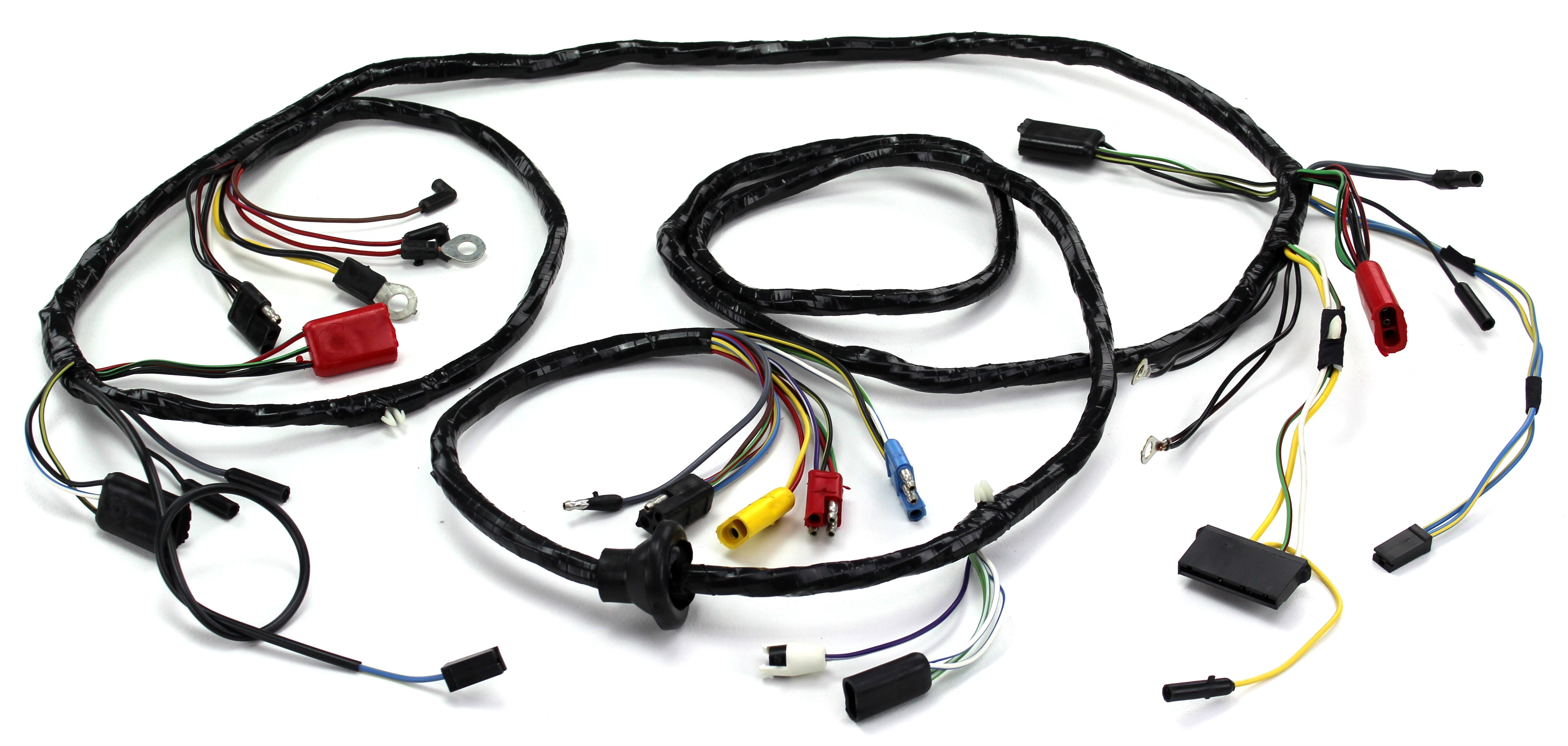 5186 2?1433507604 head light wiring harness w o tach gt 1967 alloy metal products alloy metal wire harness at eliteediting.co