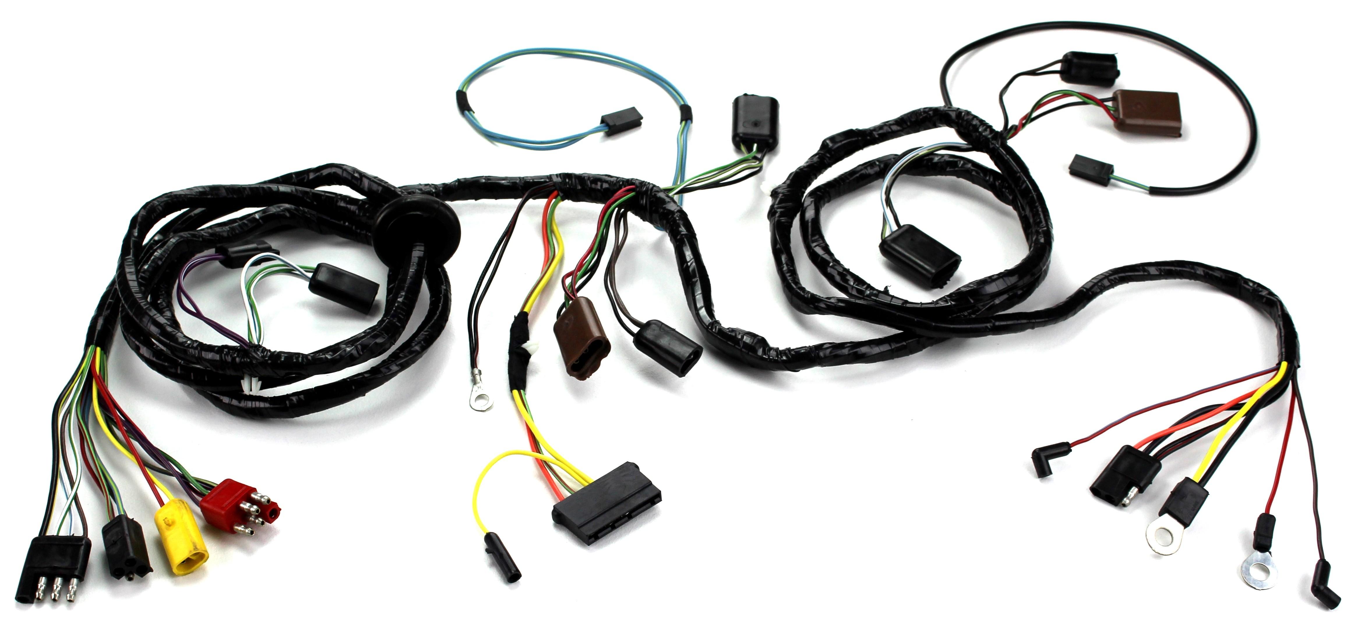 5208 2?1433507604 head light wiring harness w o tach non gt 1968 alloy metal products alloy metal wiring harness at bayanpartner.co