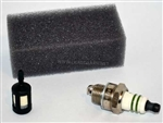 TUNE UP KIT FOR CHAIN SAWS, INCLUDES AIR FILTER PART # 530023791, FUEL FILTER 530095646 & SPARK PLUG   952030150