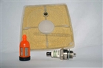 STIHL 041 TUNE UP KIT, INCLUDES AIR FILTER, SPARK PLUG AND FUEL FILTER