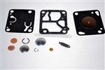 MCCULLOCH CARB KIT FOR WALBRO CARBURETORS, REPLACES PART #