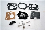 HOMELITE XL123, XL121 CARB KIT COMPLETE, WALBRO SDC NEW