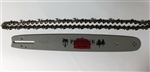 "16"" BAR & CHAIN .325"" PITCH, 66DL .050""NEW"