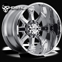 Hostile Knuckles Custom Diesel Truck Wheel - 8 Bolt