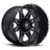 Hostile Havoc Custom Diesel Truck Wheel - 8 Bolt
