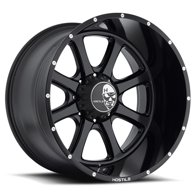 Hostile Exile Custom Diesel Truck Wheel - 8 Bolt
