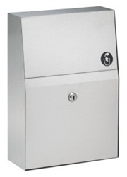 Bradley #4722-15 Sanitary Napkin Disposal- Surface Mounted
