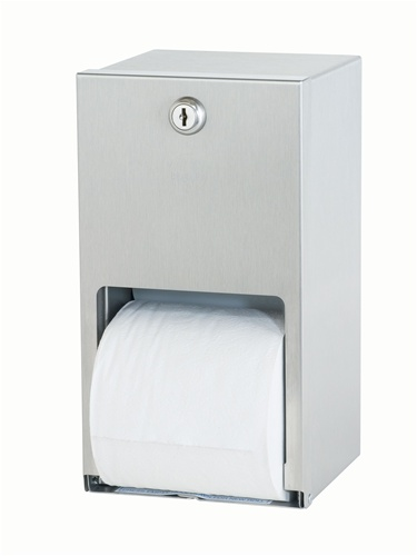 Bradley 5402 Dual Roll Toilet Tissue Dispenser
