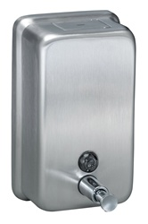 Bradley #6562 Liquid Soap Dispenser- Vertical Tank