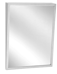 "Bradley #740- 24 x 36"" Fixed Tilt Mirror"