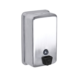 A&J Washroom #U126 Liquid Soap Dispenser- Vertical Tank