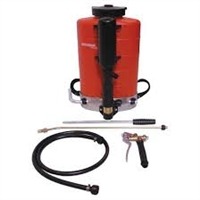Birchmeier builds the best backpack sprayer available. This is a professional grade product designed for many years of service. 2.5 gallon tank is lighter and easier on the back.