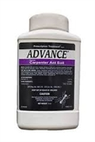 BASF - ADVANCE Carpenter Ant Bait is a ready-to-use product for use in controlling numerous ants both indoors and outdoors. This bait formulation combines a mixture of foods and the delayed action insecticide, Abamectin.