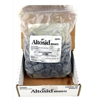 Altosid 30 day briquets for mosquito control, containing methoprene. 1 briquet covers approximately 100 square feet of surface area. 100 briquets per bag.