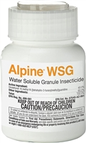 Alpine Water Soluable Granule Insecticide is a non repellent that controls some of the most common insect pets, including ants, be bugs, fleas, stink bugs, house flies and German cockroaches.