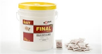 Bell Labs - Final Soft Bait - powerful single feed anticoagulant bait - contains Brodifacoum. Especially successful on tough-to-control mouse populations.