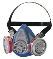 MSA Advantage 200LS Respirator Facepiece - lightweight version of MSA's popular Advantage half-mask respirator gives workers more comfort and stability than ever.
