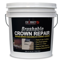 ChimneyRx Brushable Crown Repair - 1 Gallon