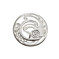 Children of Lir  Pin & Brooch