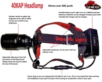 40KAP Headlamp