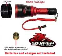 50LRX Flashlight  with 1 color