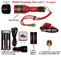 38LRX Flashlight hunting light