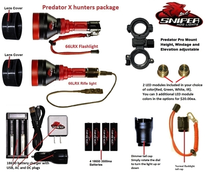 Predator X hunters Package