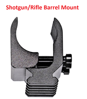 Barrel mount with rail