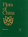Flora of China, TEXT Volume (01) ONE, Introduction