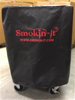 Black Outdoor Cover - Model #3 and #3D Smoker