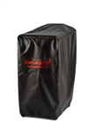 Black Outdoor Cover - Model #3 and #3D Smoker & Cart/Cabinet