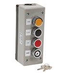 3BXLT Exterior Commercial Garage Door Control Station With Lockout