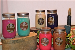 Soy candle six pack