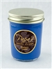 Blueberry Cobbler soy candle jelly jar graphic
