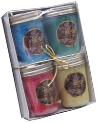 Scented soy candles graphic