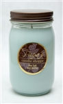Sea Salt and Orchid Mason Jar Soy Candle graphic