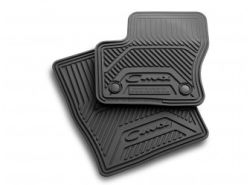 2016 Ford C-MAX Floor Mats - All Weather Thermoplastic Rubber - Black, 4-Piece Set \ DM5Z-5813300-AA
