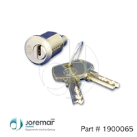 STS lock and 2 keys Assembly